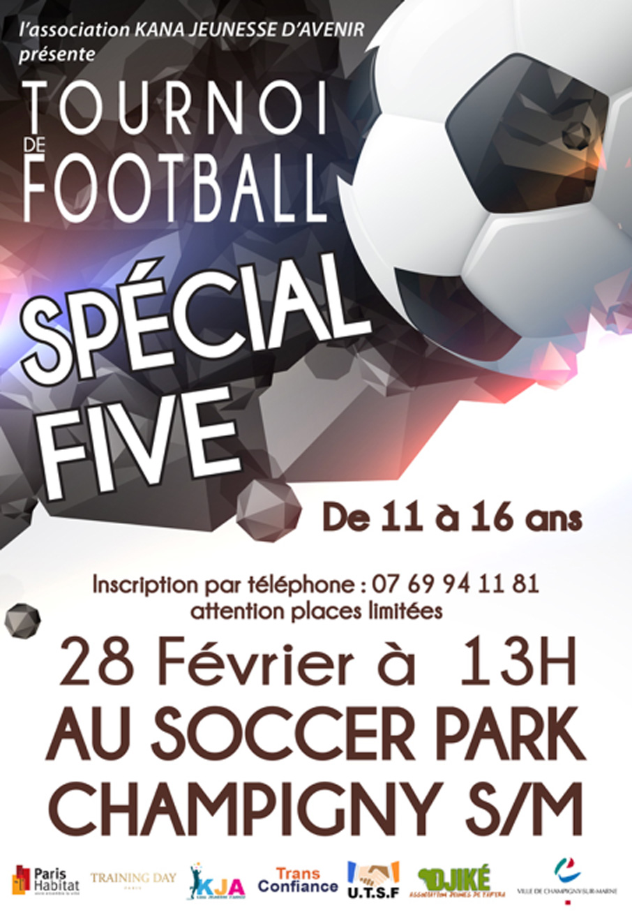 Tournoi five soccer